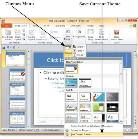 save powerpoint template as theme save design template in powerpoint 2010