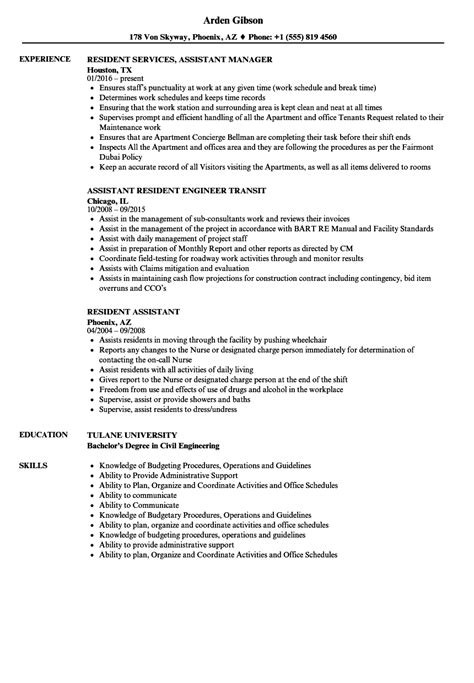 Resident Assistant Resume by Amazing Resident Assistant Resume Model Model Resume