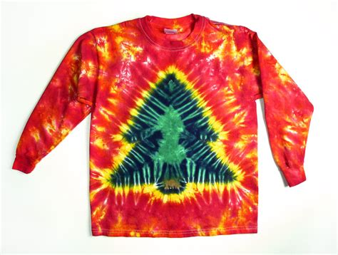 items similar to adult long sleeve christmas tree tie dye