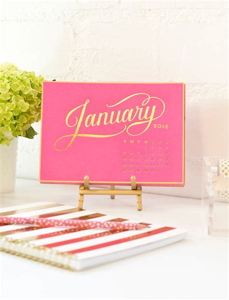 sugar paper desk calendar getting ready for the new year the well appointed desk