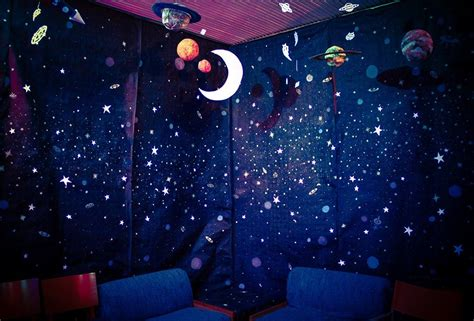 Themed Party Lights | outer space themed party lights stars planets moon