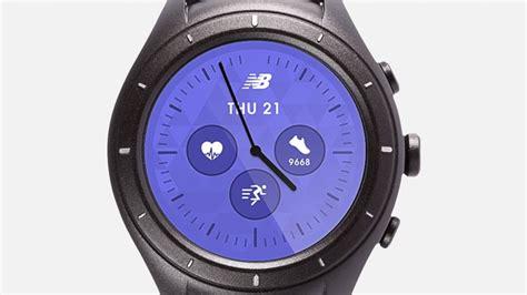 New Balance Runiq Android Wear 2 0 Smartwatch new balance runiq guide an android wear smartwatch for