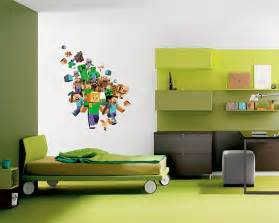 Minecraft Wall Stickers list of top minecraft wall stickers 3d images