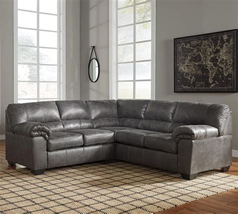 Furniture Signature Design Sectional by Signature Design By Bladen 2 Faux Leather