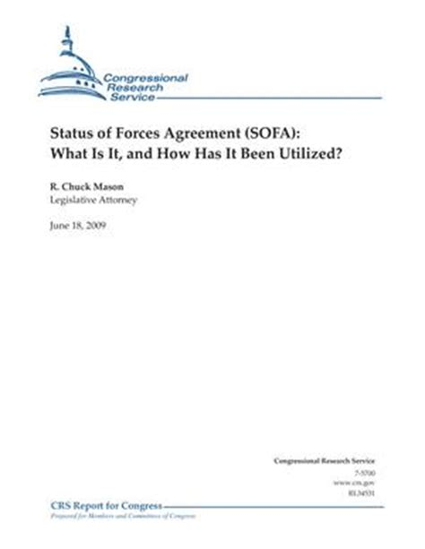 sofa agreements status of forces agreement