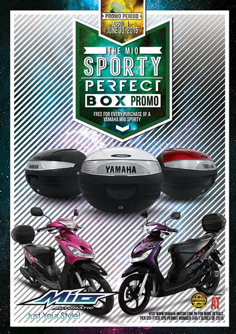 Spare Part Yamaha Mio Sporty the mio sporty box promo