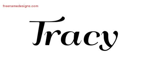tracy tattoo designs deco name designs tracy printable free name