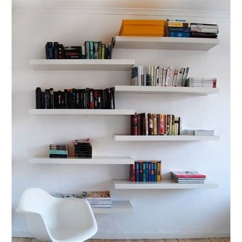 ikea lack floating wall shelf white