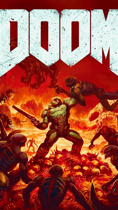 Doom HD Wallpaper For Your Mobile Phone
