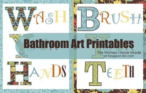 bathroom art printables bathroom wall art printables the homes i have made