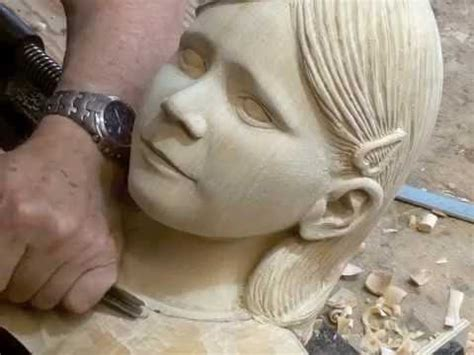 wood carving granddaughter jane youtube