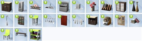 cool things for kitchen the sims 4 cool kitchen stuff pack sims online