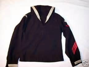 usn uniform dress jumper with red stripes enlisted