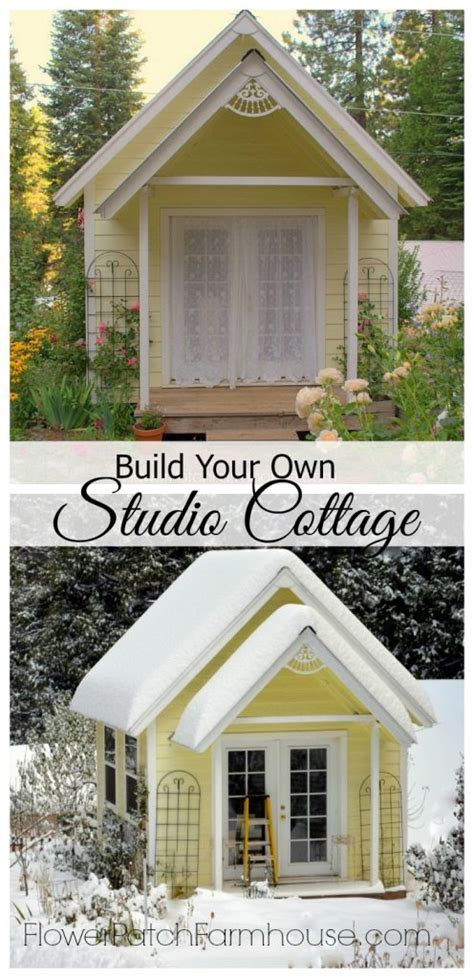 build your own cottage build your own crafting cottage or garden shed flower