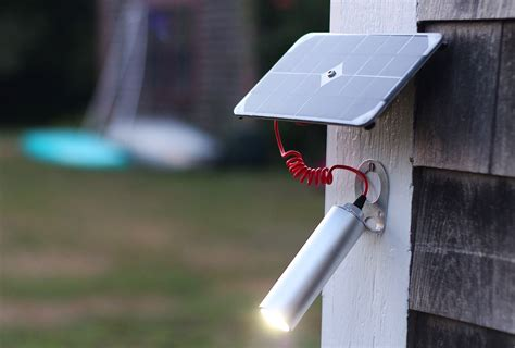 Elegant Solar Powered Shine Light Delivers 30 Hours Of How To Make Solar Powered Lights