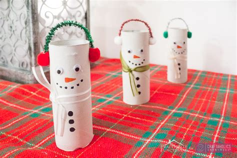 Snowman Toilet Paper Roll Craft - craftaholics anonymous 174 diy toilet paper roll snowmen