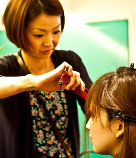 Japanese Hair Dresser by Miou Miou