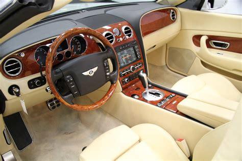 bentley gtc interior 2007 bentley continental gtc magnolia interior stock