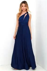 blue dress pretty maxi dress convertible dress navy blue dress infinity dress 58 00