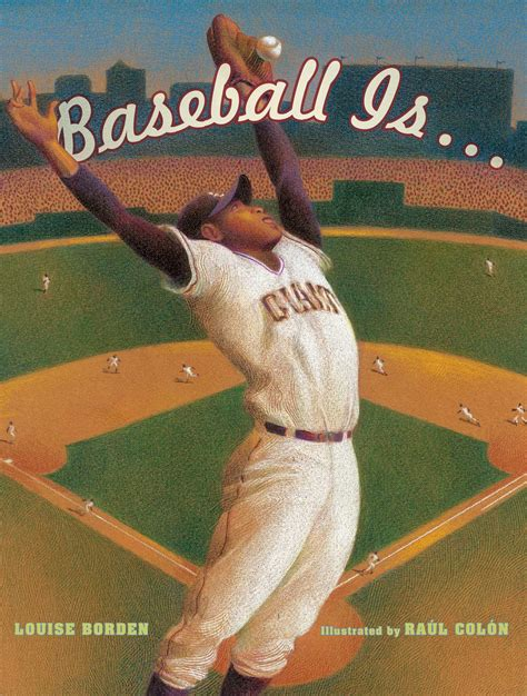 baseball picture books baseball is book by louise borden ra 250 l col 243 n