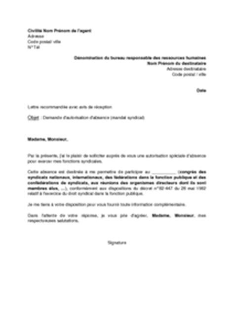 Resiliation Lettre Syndicat Exemple Lettre Resiliation Syndicat