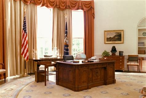 reagan s sunbeam rug oval office interior photos