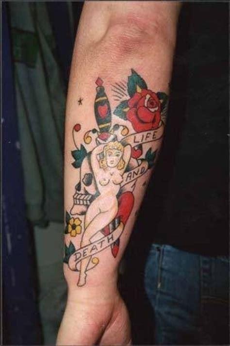 tattoo old school avambraccio 59 tatuaggi di old school ancore e altri