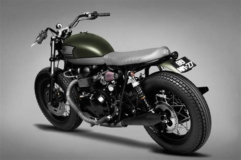 125ccm Motorrad Triumph by Triumph Bonneville Custom By Ton Up Garage