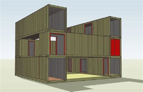 architecture plan shipping container home plans