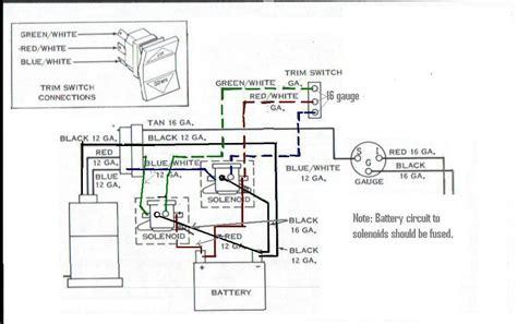 cmc tilt and trim relays wiring diagrams repair wiring