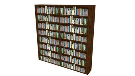 sketchup book bookshelves