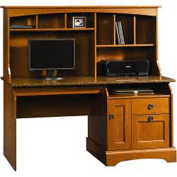Walmart Desk With Hutch Sauder Graham Hill Computer Desk With Hutch Autumn Maple Walmart