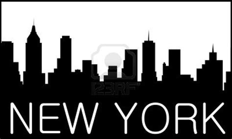logo artist nyc skyline of new york city royalty free cliparts vectors
