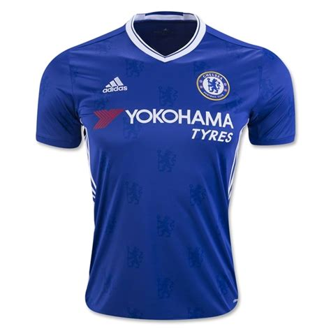 T Shirt Chelsea 03 chelsea home football shirt 16 17 soccerlord