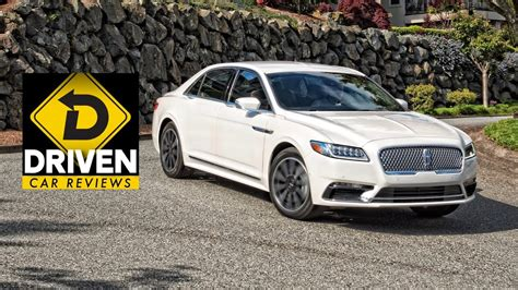 Lincoln Continental Review by 2017 Lincoln Continental Car Review