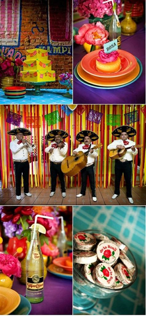 Decorating Ideas For Mexican Themed Mexican Themed Wedding Decor Ideas That Will Floor You
