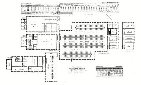 prison floor plan file nps alcatraz 1910 military prison map gif wikimedia