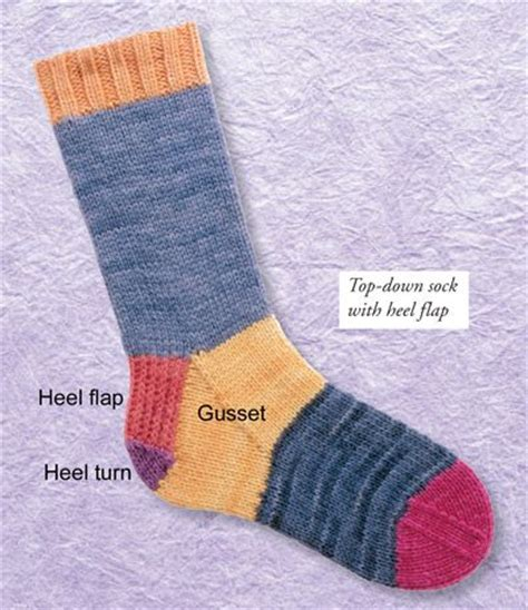 gusset sock knitting 3 how to for knitting socks a newbie knit a