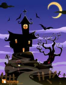 haunted house halloween background free download happy