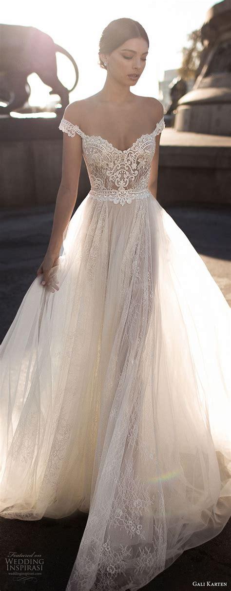 hochzeitskleid romantisch gali karten 2017 wedding dresses barcelona bridal