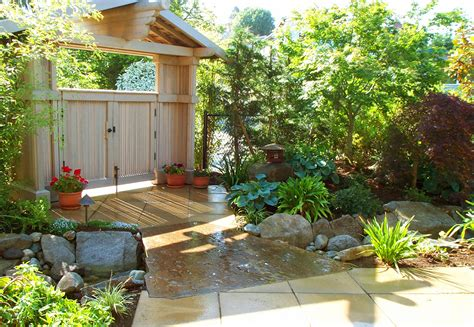 Home Garden Landscaping Ideas House Garden Designs Asian Style Landscape Northwest Home