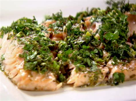 ina garten s best recipes roasted salmon with green herbs recipe ina garten food network
