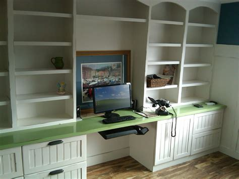 desk with cabinets built in built in bookcases ideas for small space