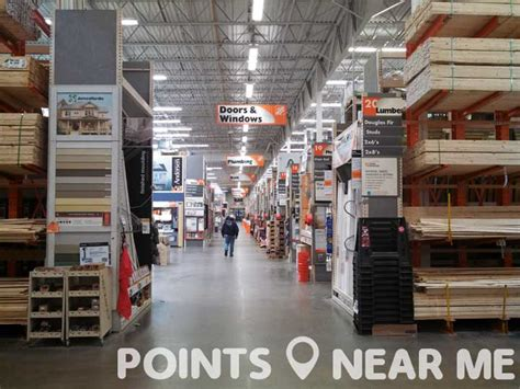 hardware stores   points
