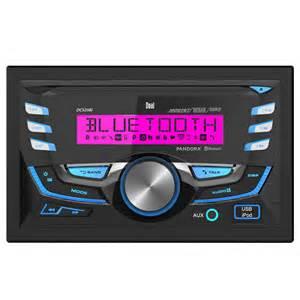 dual dc525bi din car cd receiver with built in
