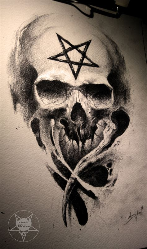 pentagram tattoo pentagram by andreyskull on deviantart