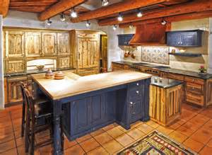 Denver Landscape Lighting - colorado beetle kill pine kitchen rustic kitchen denver by the artisan shop inc
