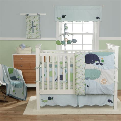Whale Baby Bedding Sets Migi Whale Crib Bumper The Frog And The Princess