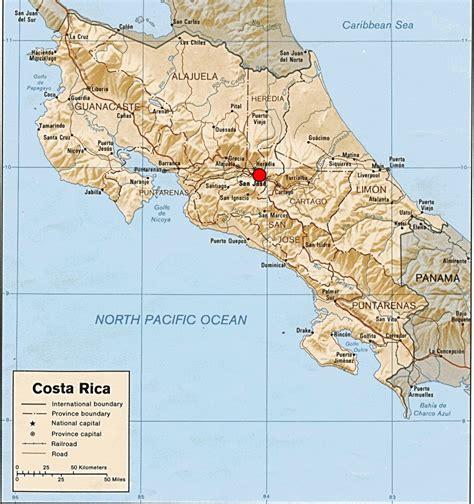 san jose costa rica on map kurt friehauf kutztown geology