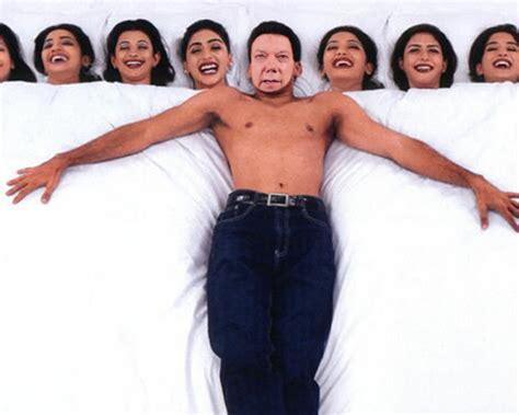 imagenes de varias mujeres fotomontaje hombre mujeriego con muchas mujeres en la cama